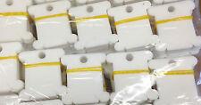 Plastic Embroidery Floss&Craft Thread Bobbins for Storage Holder Bulk 100 PACK