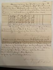 Civil War 5th Regiment, Md Usa Stationary Requisition 1862