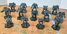 Battletech Miniatures - 14x Original Unseens MWO style