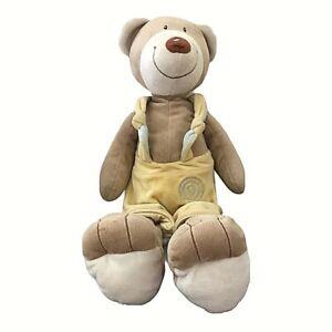 """Anna Club Plush Teddy Bear Soft Toy The Leather - Tagline 19"""""""