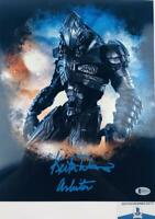 Keith David signed Arbiter 11X14 METALLIC photo HALO BAS H32776