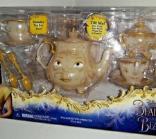 Beauty And The Beast  Enchanted Tea Set And Musical Jewelry Box