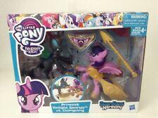 "My Little Pony FiM Guardians Of Harmony 4"" Twilight Vs Cangeling Sealed Hasbro"