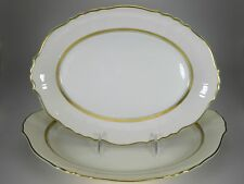"""Syracuse China Cornwall Platters Set of 2 Different Sizes (14"""" & 12"""")"""