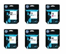 6 original cabezal de impresión HP DesignJet 10ps 20ps 50ps 120 nr/nº 11 + 84 printheads