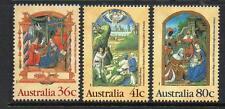 AUSTRALIA MNH 1989 SG1225-1227 CHRISTMAS SET OF 3