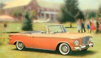 Advertising Automobile Dealership Glamorus Lark Postcard undivided 20-2246