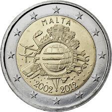 Malta 2 euro 2012 euros en efectivo