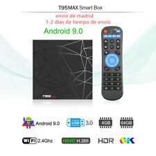 T95 TV Box Allwinner H6 Quad Core 4/64GB Wifi Youtube Full HD 6K For Android 9.0