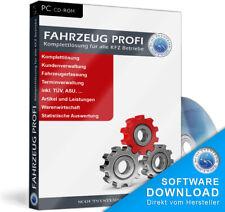 Günstiges Kfz Werkstatt Rechnungsprogramm Fahrzeugprofi Software,einfach günstig