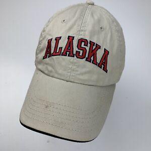 Alaska Zustand Beige Ball Kappe Hut Verstellbar Baseball Erwachsene