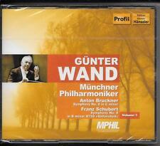 2 CD Günter Wand `Münchner Philharmoniker Vol.1` Neu/OVP Bruckner, Schubert