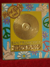HRC Hard Rock Cafe San Francisco Gold Record Series 2005 LE300 Peace
