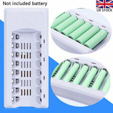 8 Slots Smart LED Battery Charger For AA AAA NI-MH NI-CD Rechargeable Batteries