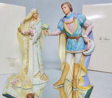 LENOX Porcelain Disney Princess RAPUNZEL & PRINCE FIGURINES Legendary Princesses