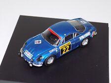 1/43 Trofeu Alpine Renualt A110 #22 winner 1970 San Remo TRF 820
