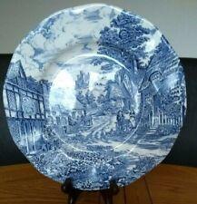 "Vintage Wedgwood  Blue Plate ""Woodland"""