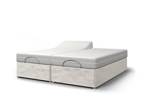 5ft Twin Electric Adjustable Bed-Memory Foam Mattress-Optional H/B-5yr Warranty