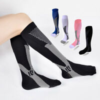 Men Ski Compression Long Socks Leg Foot Support Pain Relief Sports Orthotics