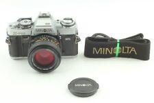 Rare!  Silver {NEAR MINT} MINOLTA X-700 35mm Camera + MD 50mm f/1.4 JAPAN #075X