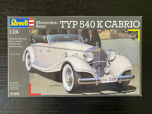 Revell 1/24th Mercedes Benz Typ 540K Cabrio Brand New And Sealed