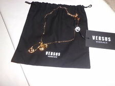 Versace Versus   Necklace Gold  Pin Lion