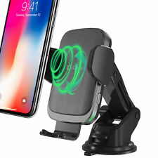 WIreless Charging Phone Holder Mount for Dashboard or Air Vent One Hand Release