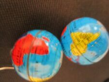 Out Teacher Supply One Pair- B Globe Pierced Earrings of the World Mapped