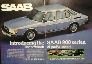1978 Saab 900 Series Turbo 5-Door EMS GLE 3-door Vintage Print Ad