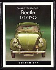 VOLKSWAGEN BEETLE 1949 to 1966 - Collectors Cards - Split Oval Karmann Cabriolet