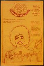 JIMI HENDRIX REPRO NEWPORT 69 POP FESTIVAL POSTER FLYER 20-22 JUNE 1969 CONCERT