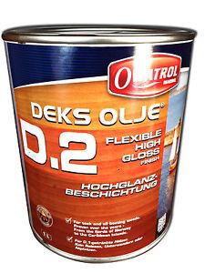OWATROL Marine D2 Deks Olje D2 Hochglanz Beschichtung Bootslack Bootsöl Yachtöl