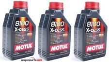 Aceite Motor Motul 8100 X-Cess xcess 5W40, 3 litros (3x 1 lt)
