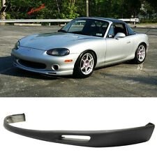 99-00 Mazda Miata OE Style Front Bumper Lip Chin Spoiler - Polyurethane (PU)