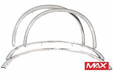 FTCR202 2001-2010 Chrysler PT Cruiser POLISHED Stainless Steel Fender Trim