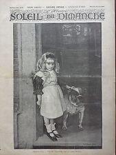 L'ILLUSTRE DU SOLEIL DU DIM 1895 N 26 CAVE CANEM, D'APRES LE TABLEAU DE STOREY