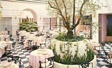 1951 Interior Dolphin Court Los Angeles Ambassador Restaurant Lithochrome 6848
