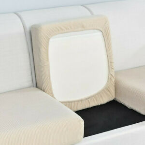 Stretch Sofa Seat Cushion Cover Couch Slip Covers Fabric Stretchy Protector