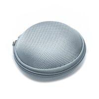 Mini Bolsa Funda Porta para Auriculares Lona Color Gris E9D4