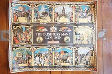 1977 The Buisiness Mans London Tube Underground Transport Railway Poster