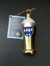 Inge Glas Bavarian Beer Glass Blown Glass German Christmas Ornament
