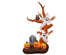 Halloween Air Blown Inflatable Yard Outdoor Party Decoration Tree Ghost Pumpkins