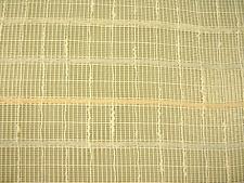 "Imported drapery fabric craft wedding tablecloth open weave sheer 118"" wide"