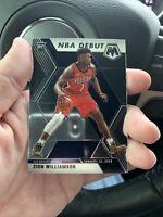 Zion Williamson 2019-20 Panini Prizm Mosaic NBA Debut Base RC #269 Pelicans