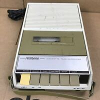 Vintage Realtone 7612 Tape Cassette Recorder Solid State 2.B6