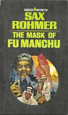 THE MASK OF FU MANCHU Sax  Rohmer - EVIL CHINESE MASTERMIND & WORLD CONQUEROR