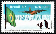Brazil 2096, MNH. Antarctic Project. Natl. Air Force C-130 Transport Plane, 1987