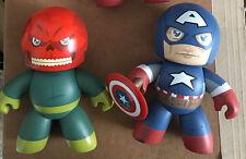 HASBRO MIGHTY MUGGS ULTIMATE CAPTAIN AMERICA & RED SKULL from Marvel
