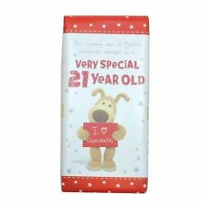 Boofle Special 21 Year Old Chocolate Bar Gift - 21st Birthday Gifts