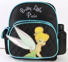 Disney Tinker Bell 10'' Mini Backpack Girls Kids Mini Book Bag with water bottle